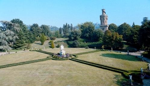 Les ch teaux de la doire le parc du ch teau passerin d for Giardino torrigiani